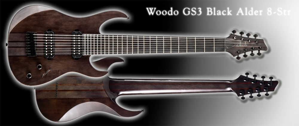 Woodo GS3 Black Alder 8-Str